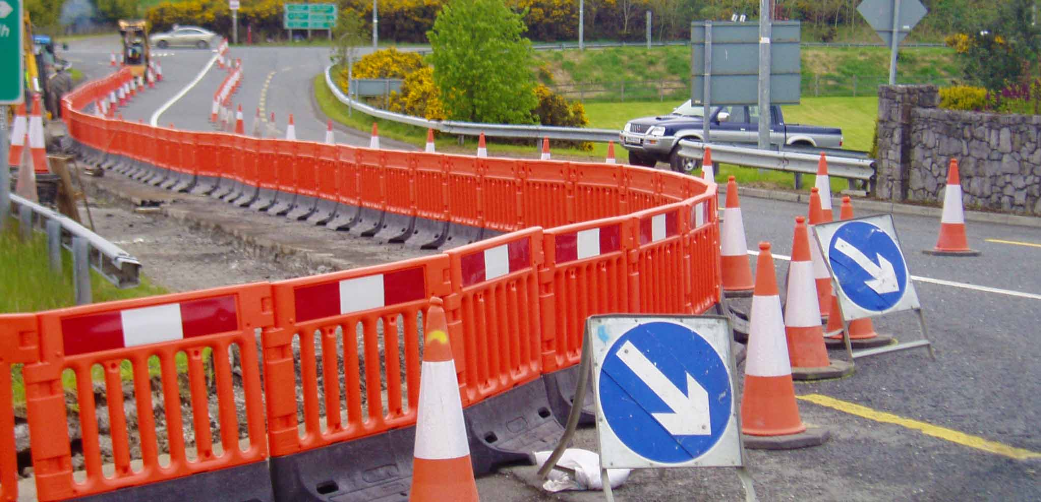 StrongWall Highways Barrier